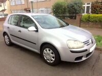 Volkswagen Golf 1.6 FSI S, Very Low Mileage, 5DR Hatchback, Silver, Petrol, Manual, 6 Gear drive