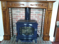 Waterford Ashling Wood Burning Stove, Multi-Fuel 7.3kw