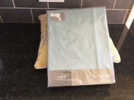 King sized flat sheet 100% cotton brand new packaged