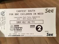 CarFest - Sunday 28th - 2 Adult Tickets and 1 Child Ticket