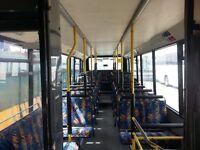 1996 Man Marshall single decker bus with 39 seats.