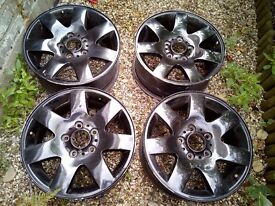 "BMW alloy wheels (style 123) 16"",7J,5x120 (e46,e90,91,92,e60 and more)"
