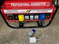 Generator Kraftech professional 6.0 kw-6.5 kw, 240v , 110v , 12v outputs