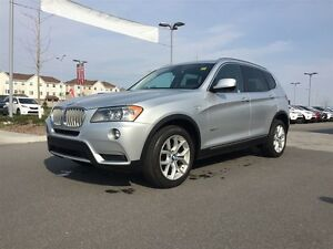 2014 BMW X3 xDrive28i WITH PANORAMIC ROOF! MUST SEE THIS CAR!