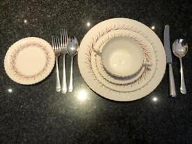 Fine Bone China Dinner Service