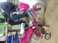 """Princess bike 12"""" new"""