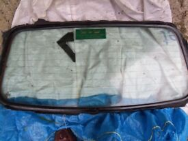 VW Golf MK 4 Heated Rear Screen and SEAL for CABRIOLET CONVERTIBLE