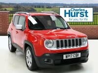 Jeep Renegade M-JET LIMITED (red) 2017-03-31