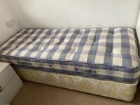 """2ft 6"""" Single Divan Bed"""
