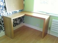 Desk, 'L' shape, Ikea