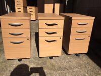 Desk Pedestal/ Filing Cabinet 10x