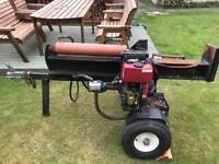 Diesel hydraulic log splitter