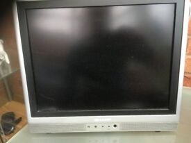 "Sharp Aquos 15"" LCD TV"
