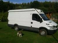 9c412fa722 Iveco 35s14 fridge freezer van