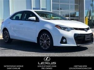 2014 Toyota Corolla S UPGRADE. WHEELS AND SUNROOF