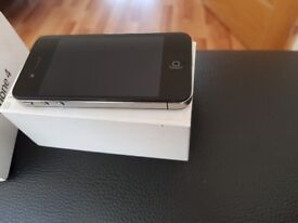 Apply iphone 4 with box