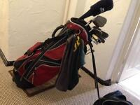 Golf clubs - Mizuno irons, Titleist vokey plus accessories ***