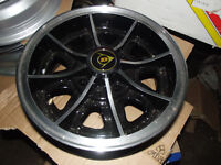 "CLASSIC MINI 5"" X 12"" DUNLOP STYLE ALLOY WHEELS NEW 5 off"