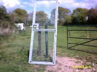 GALVANISED SECURITY GATE