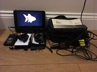 "Sony DVP-FX870 Portable DVD Player (8""). With all accessories! Local delivery available! CHEAP!!"