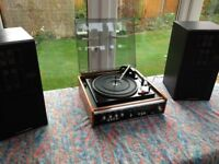 Lovely 70's Stereo Record Player with built in Radio.