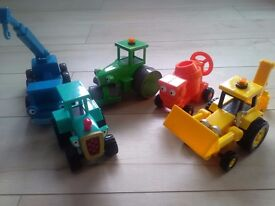 Bob the builder moveable toys