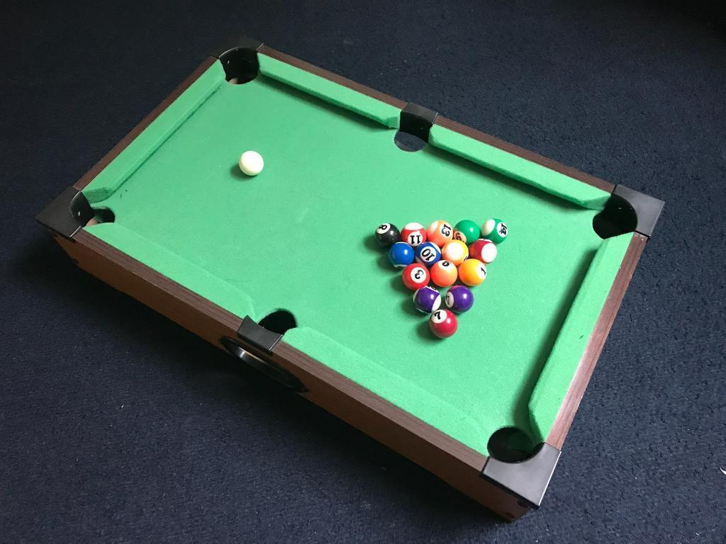 Mini Pool Table In Ilkeston Derbyshire Gumtree - I want to sell my pool table