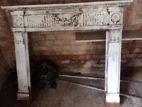 ** Decorative Wooden fire place surround-£30**