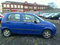 2002 MATIZ 0.8 PETROL. FULL YEAR MOT . VERY ECONOMIC AND CHEAP INSURANCE. EXCELLENT RUNNER