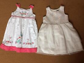 Skirts and dresses for 3yo