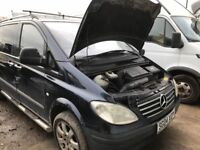 Mercedes Vito spare parts available door wing seat injector turbo