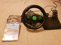 Gameing wheel and games
