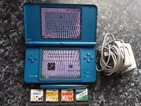 DSi XL Blue Nintendo Games Console DS XL DSXL DSiXL Can meet New Deer or Dyce