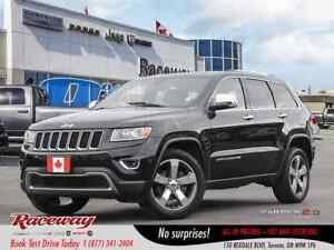 2015 Jeep Grand Cherokee ***LIMITED***LEATHER***ROOF ***NAVIGATI
