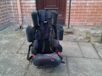 Disabled child car seat