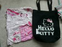 Hello kitty bags £2 Each - ideal for school