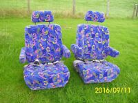 Motorhome / Camper van Swivel Captains Seats