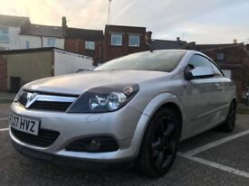VAUXALL ASTRA TWIN TOP 1.8 CONVERTABLE 2007 *low mileage*