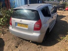 2005 CITROEN C2 IN FOR BREAKING SPARES PARTS CHELMSFORD ESSEX LONDON