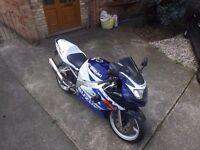 2002 SUZUKI GSXR 600 K2