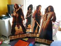 Pirates Of The Caribbean Standees x 4
