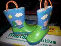 kids shoes and wellie boots