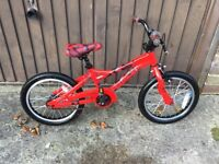 """Boy's bike - 'Black Thunder' - 16"""" wheels, would suit 4 to 6 year old"""