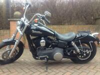 Harley Davidson Dyna Street Bob 1584 2010 VERY LOW MILAGE - 8K EXCELLENT CONDITION ALL ROUND