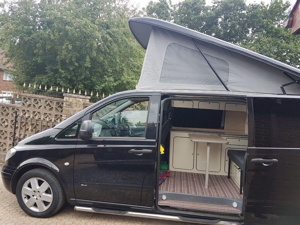 Vito Camper conversion , Clean van 100% reliable , Poptop ...