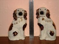 PAIR OF BESWICK-STYLE DOGS - 5 INCHES TALL - PERFECT CONDITION