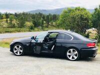 BLACK BMW 2008 Coupé 325 HI-PERFORMING, CLEAN EXCELLENT DRIVE, SUPERB CONDITION, LOW PRICED BARGAIN