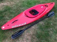 Kayak Dagger Infrared sit in package