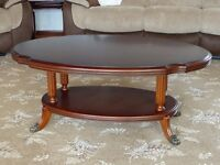 Oval Somerset Coffee Table