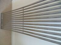 Designer Curved Chrome Radiators - 1.8 Metres Tall by 300mm Wide